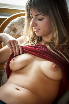 Natural erotic girl Olivia
