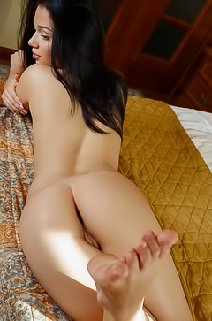Marla C is relaxing naked