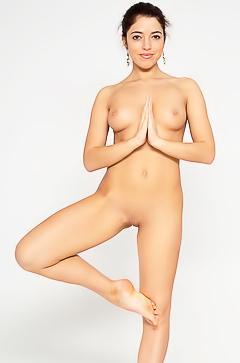Bree H. - nude yoga