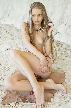 Long legged beauty Milena D