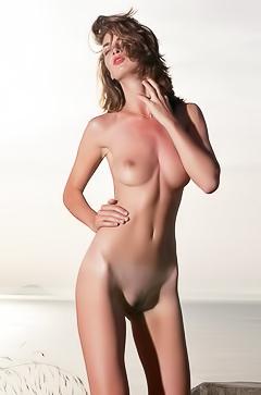 Charlotta - naked on the sunset