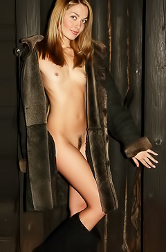 Lilya in nude photoshoot