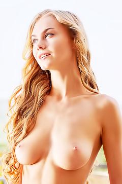 Nude slim model Nancy A