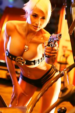 Wild actiongirl Marie Claude