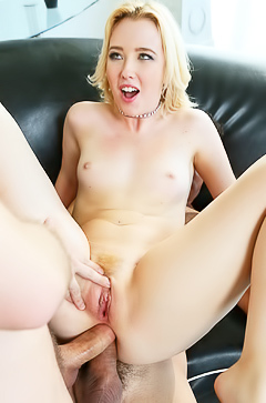 Samantha Rone - two dicks in one butt hole
