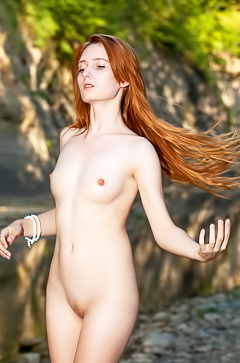 Redhead beauty May