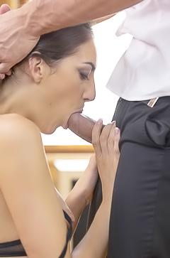 Mikki Torrez and her blowjob skills