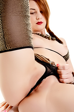 Candy Sweet - juicy pussy and stockings