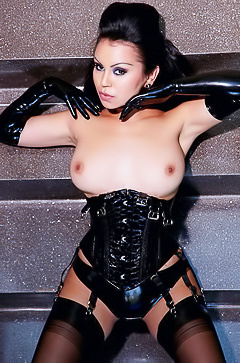 Fetish pics with sexy Caroline Aquino