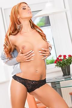 Ashley Bulgari and her perfect body