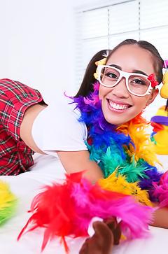 Hardcore With Dirty Schoolgirl Aria Skye
