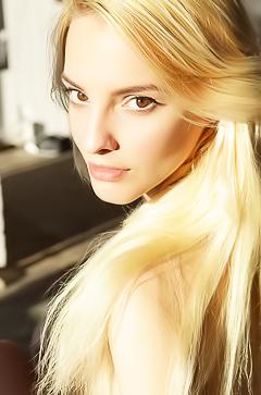 Horny Ukrainian girl Kira W masturbating