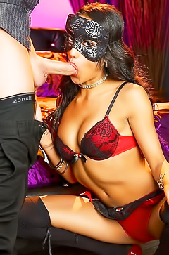 Chloe Amour in hot blind sex