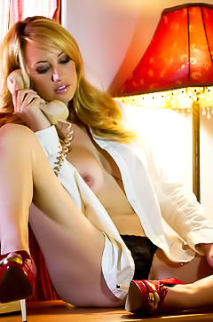 Phone sex with Brett Rossi