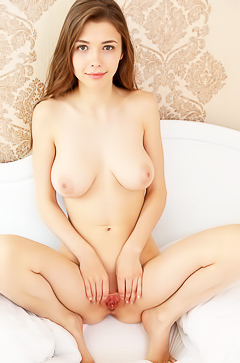 The hottes young girl Mila Azul