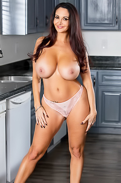 Mama Ava Addams in the kitchen