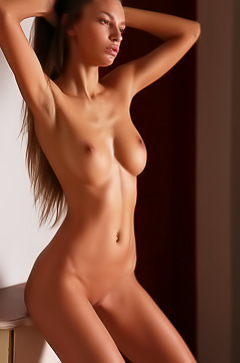 Horny skinny girl Elin