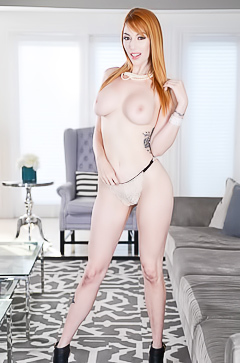 Interview with redhead slut Lauren Phillips