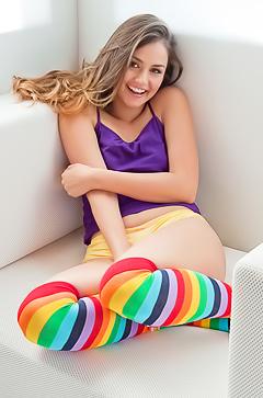 Sweet playful girl Allie Haze