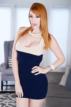 Redhead secretary Lauren Phillips