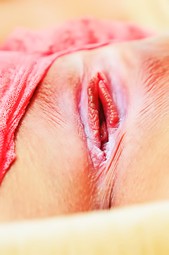 Lisa Dawn shows orgasmic pussy