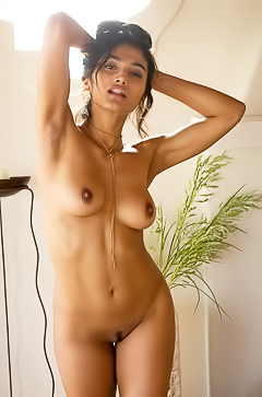ANGEL CONSTANCE - naked in the house