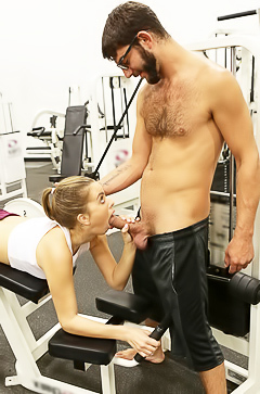 Gym sex with Jill Kassidy