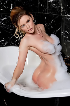 Ora Young Takes A Hot Bath