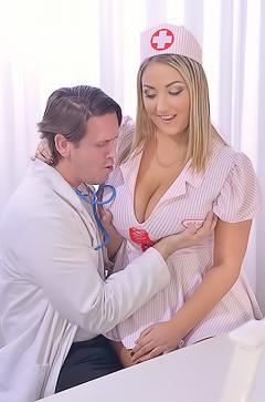 Krystal Swift Titty Fuck In Doctor's Office