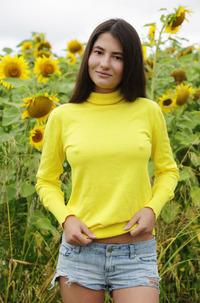 Sunflower Brunette Melisia